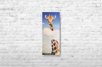 """Картина на холсте """"Жираф"""" 20х55см"""