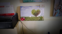 "Картина на холсте ""Дерево"" 40х25см"
