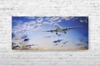 "Картина на холсте ""Самолет"" 77х35см"