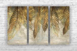 """Картина на холсте """"Листья"""" 90х60см"""