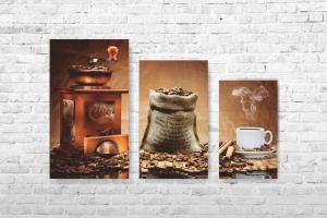 """Картина на холсте """"Кофе"""" 105х70см"""