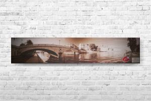 """Картина на холсте """"Мост"""" 150х30см"""