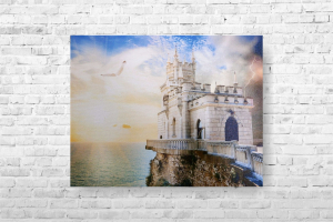 "Картина на холсте ""Крым"" 37х30см"