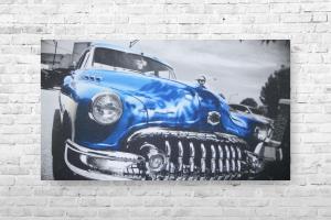 "Картина на холсте ""Авто"" 60смх35см"