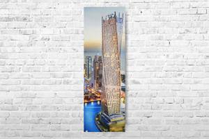 """Картина на холсте """"Башня"""" 30х87см"""