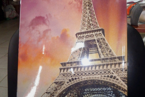 """Картина на холсте """"Париж """" 35х57см"""