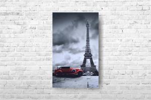 """Картина на холсте """"Париж"""" 40х65см"""