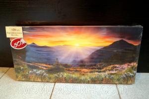 "Картина на холсте ""Закат"" 65х30см"