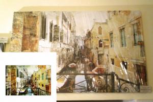 """Картина на холсте """"Венеция"""" 110х70см"""