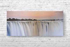 """Картина на холсте """"Водопад"""" 125х55см"""