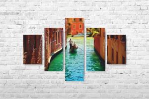 """Картина на холсте """"Венеция"""" 175х117см"""