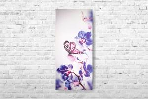 """Картина на холсте """"Орхидеи"""" 35х77см"""