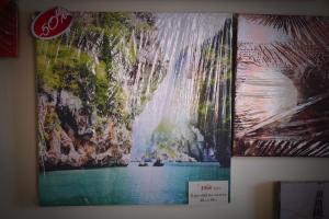 """Картина на холсте """"Водопад"""" 40х40см"""