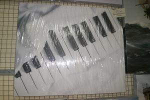"Картина на холсте ""Пианино"" 60х50"