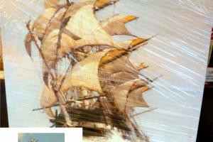 "Картина на холсте ""Корабль"" 65х100см"
