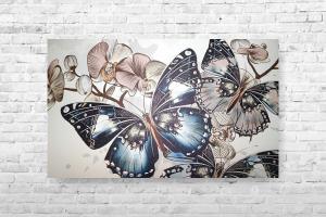 "Картина на холсте ""Бабочки"" 65х40см"