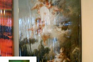 "Картина на холсте ""Ангелочки""  40х70см"