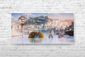 "Картина на холсте ""Мадагаскар"" 90х45см"