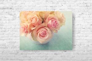 """Картина на холсте """"Нежные розы"""" 40х30 см"""