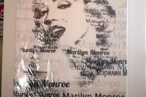 """Картина на холсте """"Мэрилин Монро"""" 30х50см"""