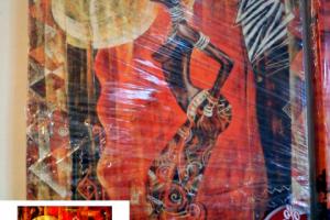 "Картина на холсте ""Африканское искусство"" 40х50см"